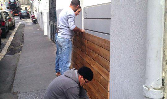 Atelier participatif jardiniere urbaine pour le Groupe SOS
