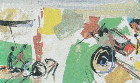 Inspiration de la peinture Yvonne Guégan La Plage
